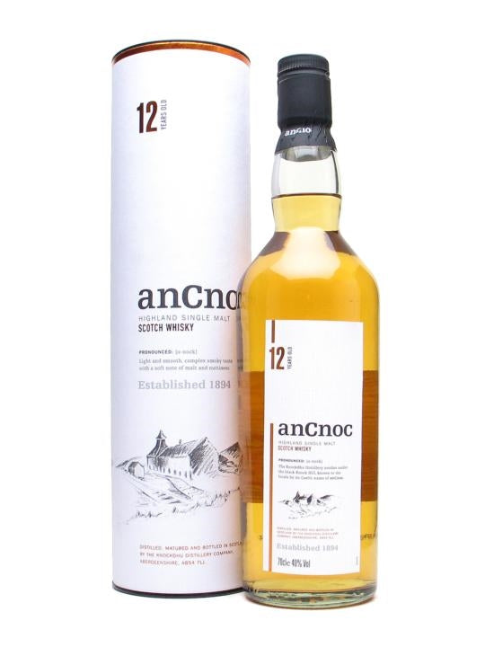 AnCnoc 12 Year Old 700ml/43%