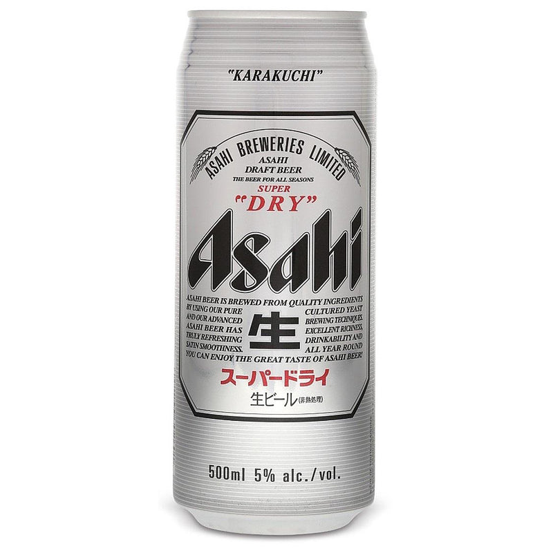 Asahi Super Dry 24x500ml cans (Japan import)