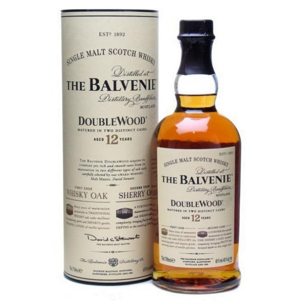 Balvenie 12 Year Old Doublewood 700ml/40%