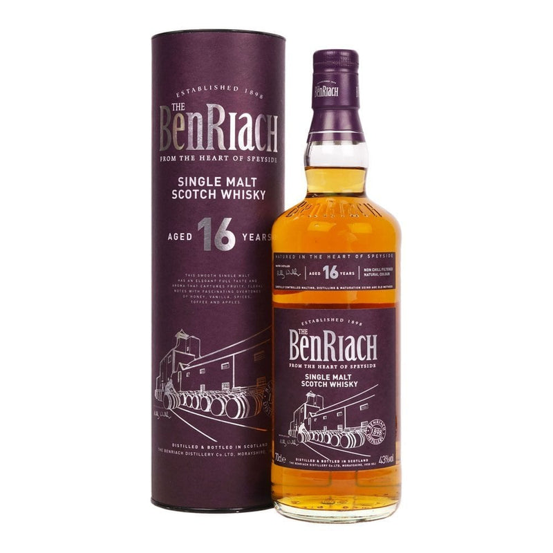 BenRiach 16 Year Old 700ml/43%