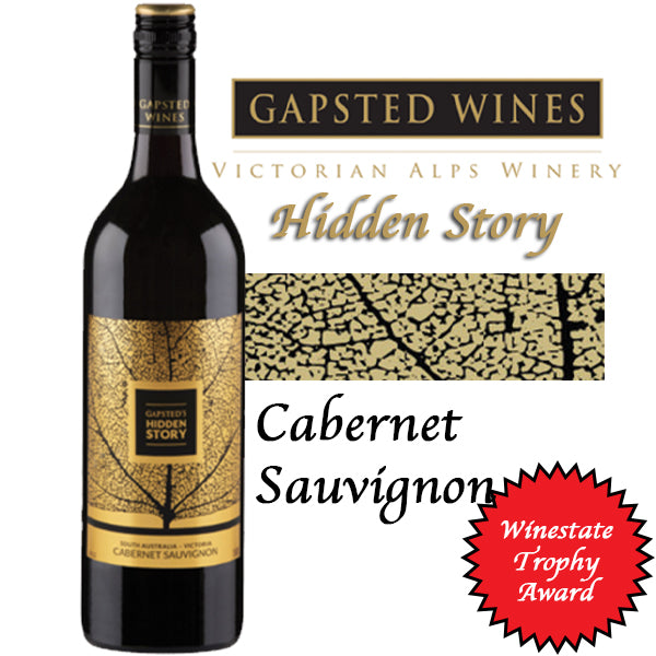 Gapsted Hidden Story (Cabernet Sauvignon) 750ml/14%