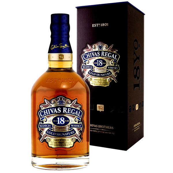 Chivas 18 Year Old 750ml/40%
