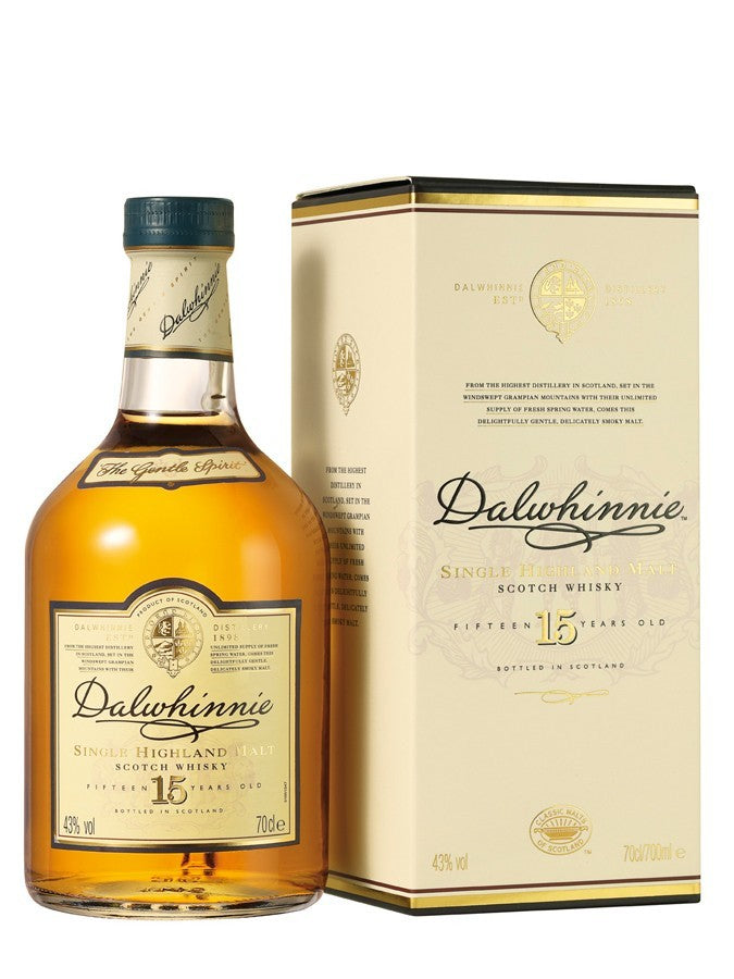 Dalwhinnie 15 Year Old 700ml/43%