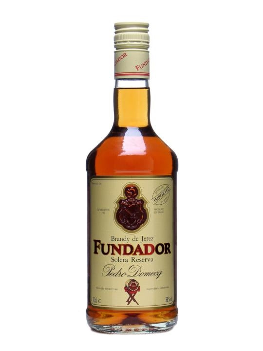 Fundador Solera Reserva Brandy 700ml/36%