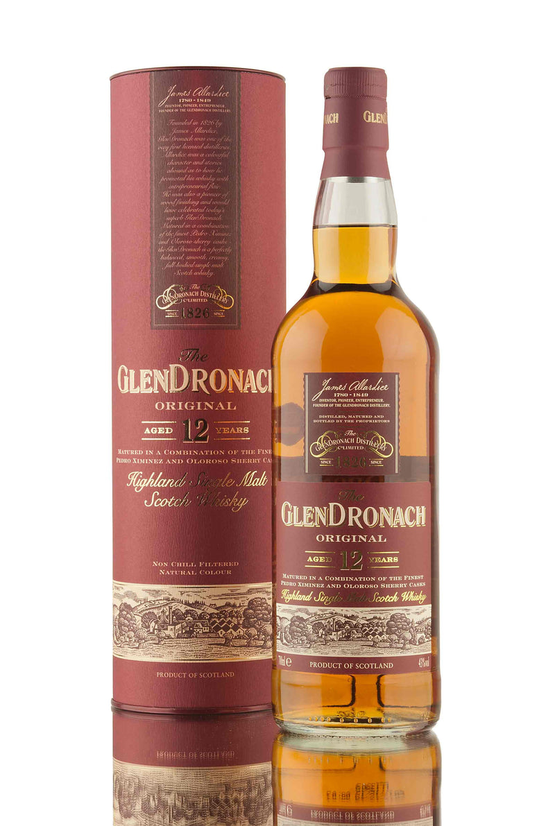 Glendronach 12 Year Old 700ml/43%