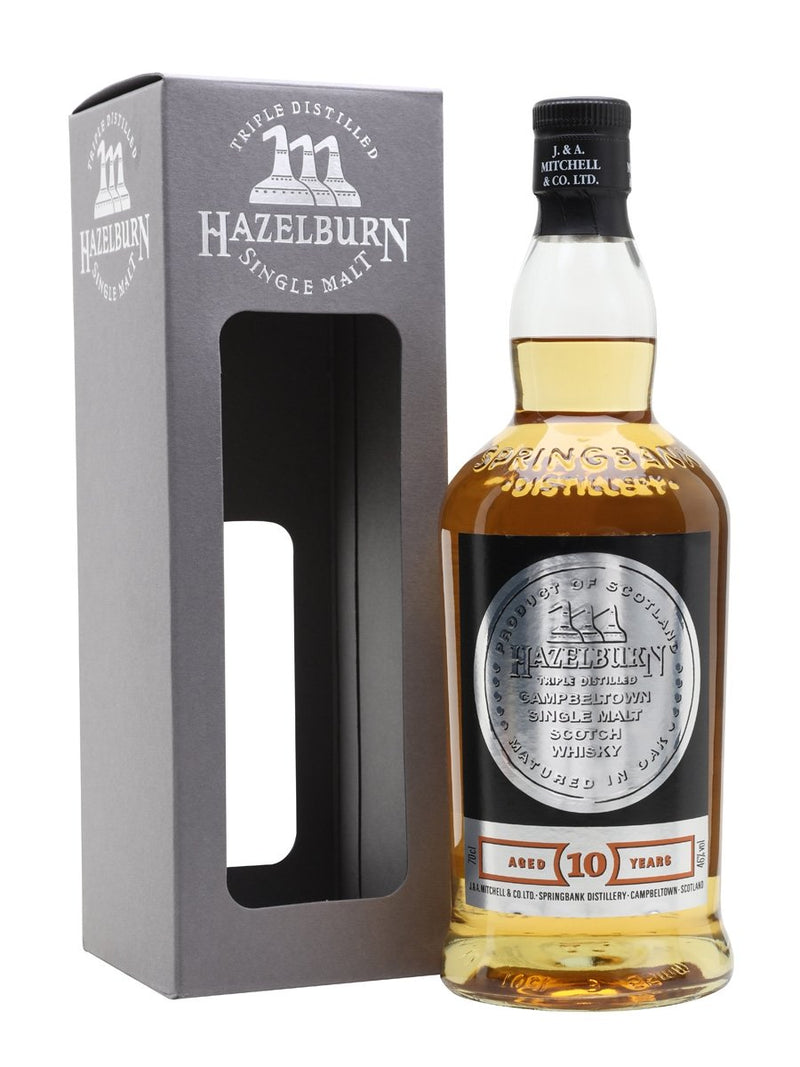 Hazelburn 10 Year Old 700ml/46%