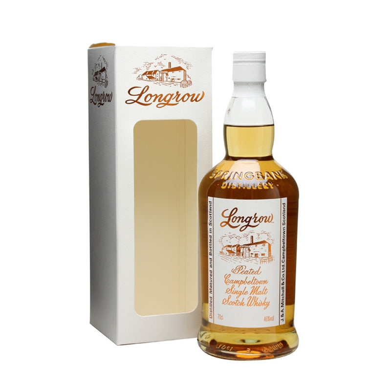 Longrow Peated Campbeltown Single Malt Whisky 700ml/46%