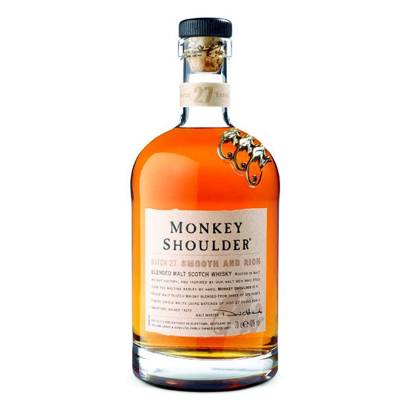 Monkey Shoulder Blended Malt Scotch Whisky 700ml/40%