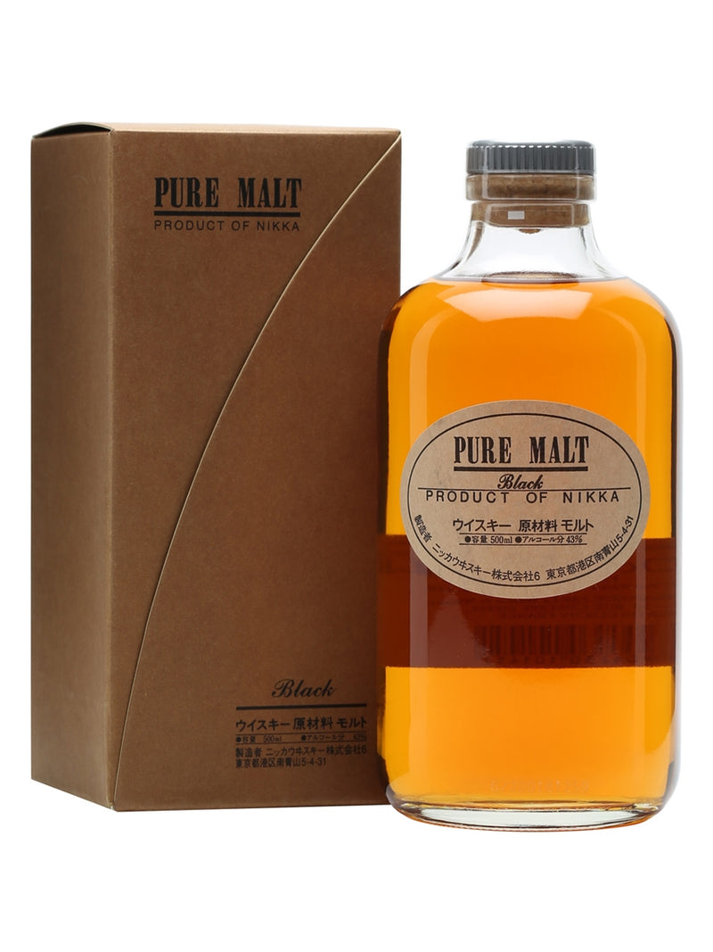 Nikka Pure Malt Black Whisky 500ml/43%