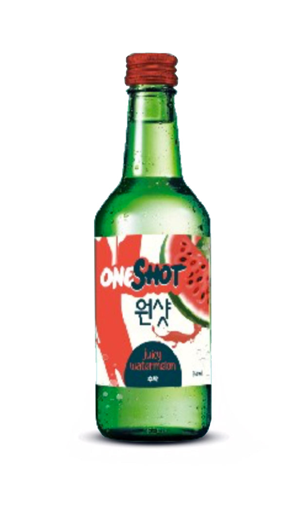 Oneshot Soju - Watermelon 360ml/10.1%