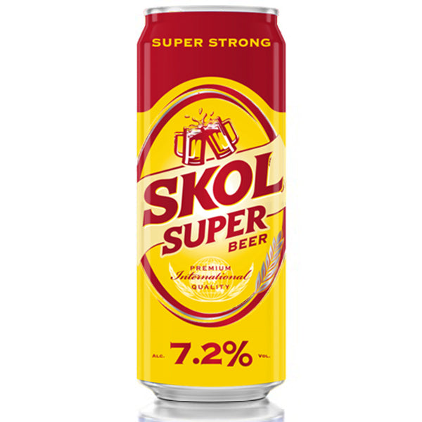 Skol Super 7.2% 24x500ml cans