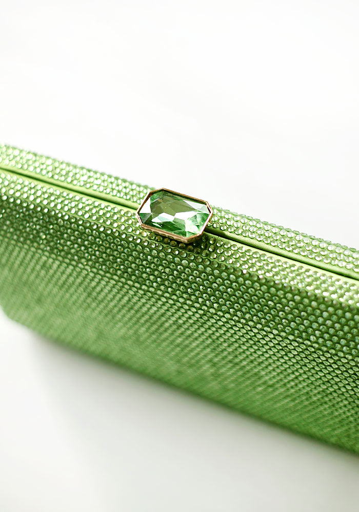 Shiny Green Clutch