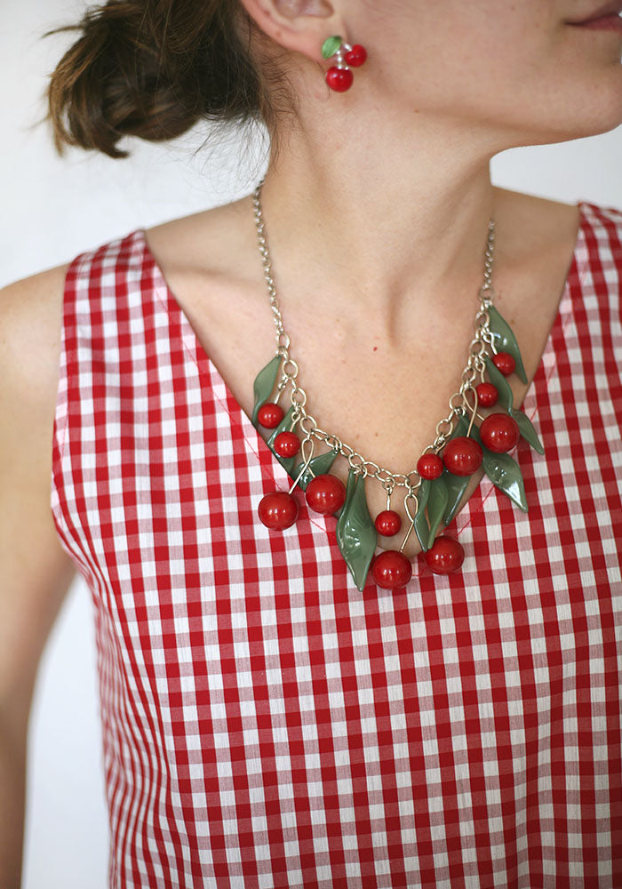 Maxi Cherries Necklace