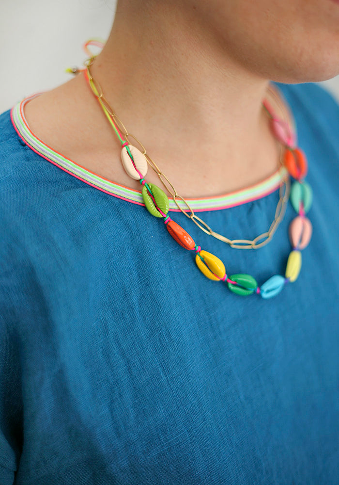 Colored Shells Necklace