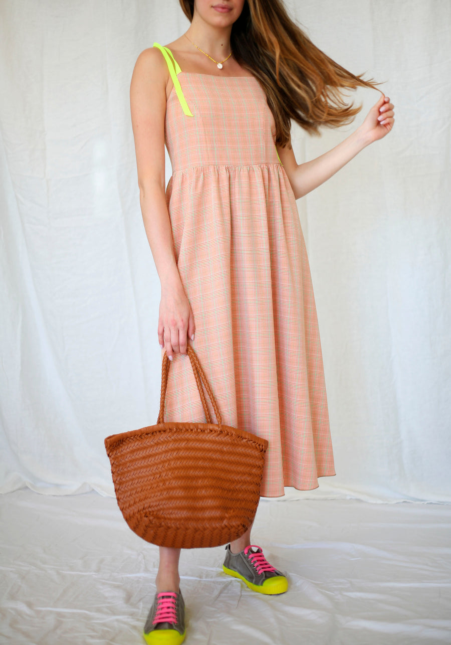 Orange Nest Dress