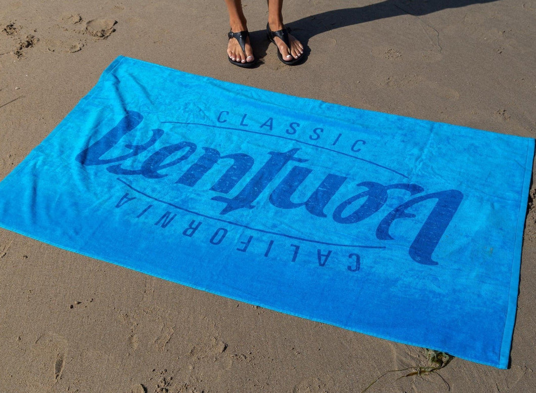 Ventura Beach Towel - Blue