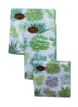Load image into Gallery viewer, Succulents & Palm Leaves Party Napkins