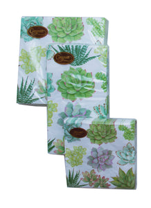 Succulents & Palm Leaves Party Napkins