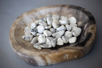 Tumbles - Sage Sisters Apothecary - Howlite Tumbled Stone - sage-sisters-apothecary