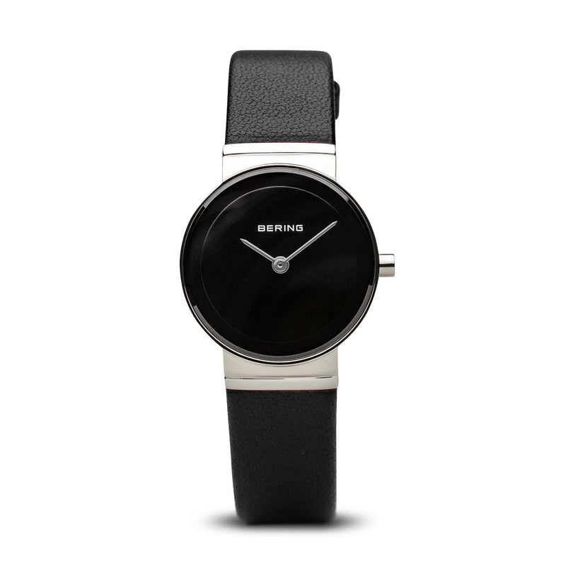 Bering Classic Brushed Silver Black Watch