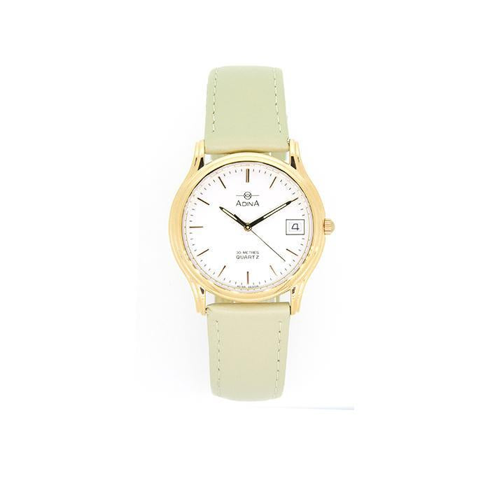 Adina Everyday Dress Watch Nk39 R1Xs (Bone)