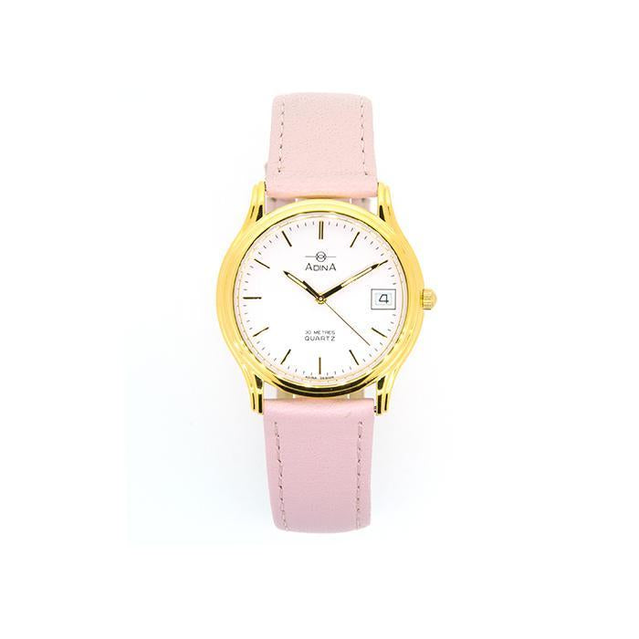 Adina Everyday Dress Watch Nk39 G1Xs (Pink)