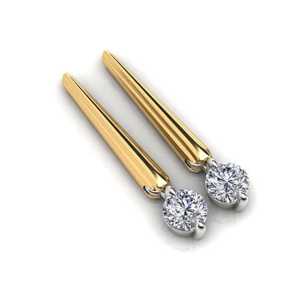 Aurora 18ct Gold G SI - 0.30ct TDW Diamond Earrings