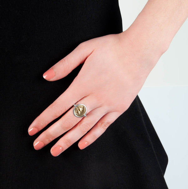 Najo - Bacchus/Pegasus Swivel Ring