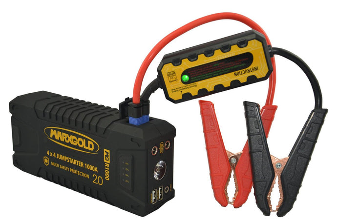 NEW PRODUCT: MARXGOLD 4X4 JUMPSTARTER 1000CA