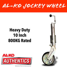 Load image into Gallery viewer, AL-KO 10 INCH 800KG RATED PREMIUM Auto Retract Jockey Wheel