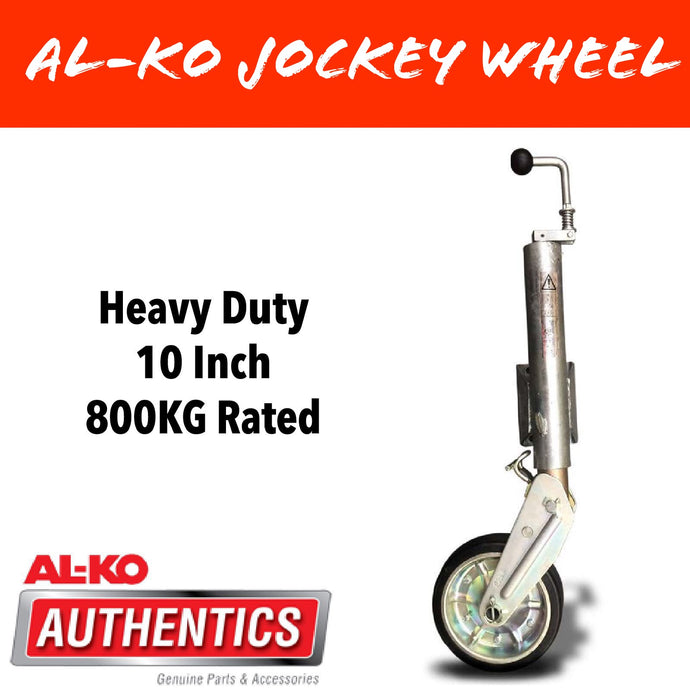 AL-KO 10 INCH 800KG RATED PREMIUM Auto Retract Jockey Wheel