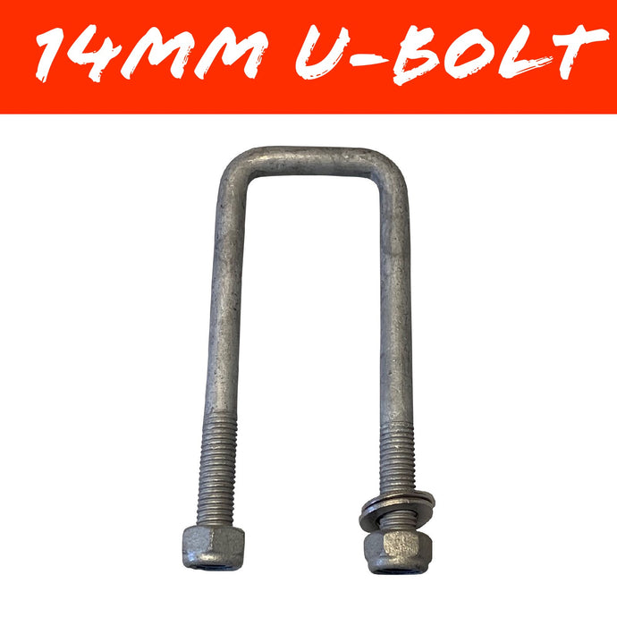 50mm x 130mm 14mm GAL U-BOLT