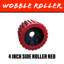 Load image into Gallery viewer, 110mm RED Wobble Roller