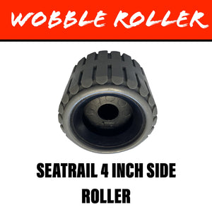 SEATRAIL 4 INCH GREY Wobble Roller 20MM Bore