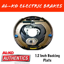 Load image into Gallery viewer, AL-KO 12 Inch Electric Brake Backing Plate