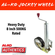 Load image into Gallery viewer, AL-KO 8 INCH PREMIUM Auto Retract Jockey Wheel