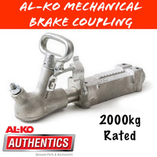 Load image into Gallery viewer, AL-KO 2000KG Braked Coupling