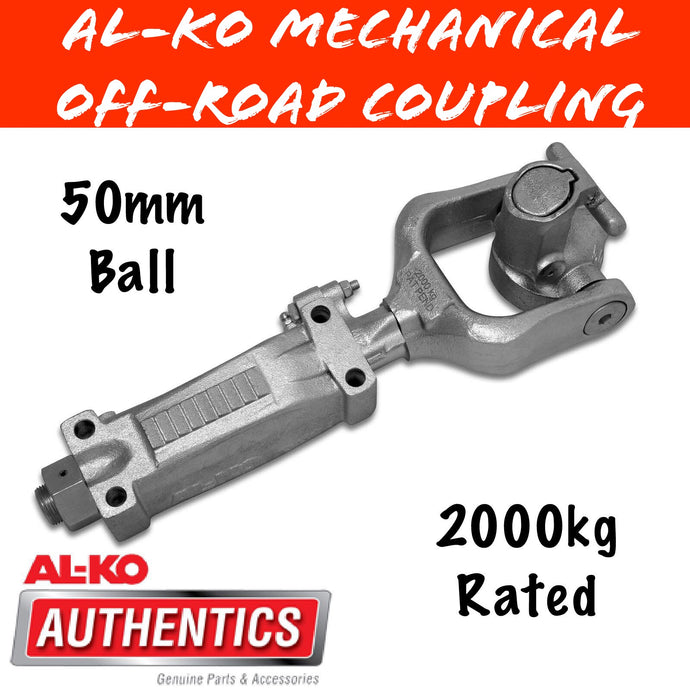 AL-KO 50MM Ball Offroad Coupling 2000KG