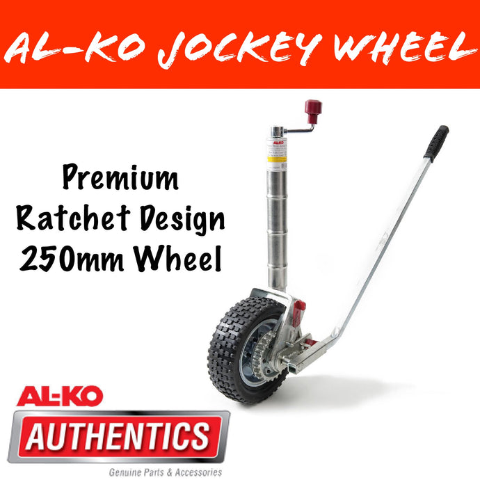 AL-KO 10 INCH POWER MOVER PREMIUM JOCKEY WHEEL