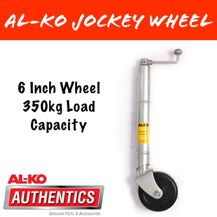 AL-KO TRAILTECH 6 INCH Clamp On Jockey Wheel