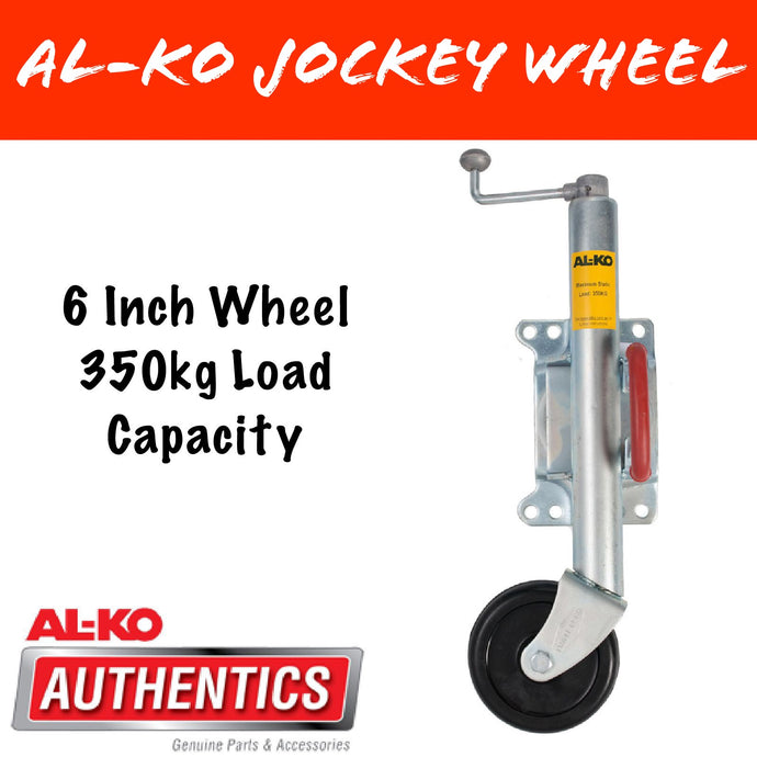 AL-KO TRAILTECH 6 INCH Swing Up Jockey Wheel