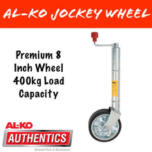 Load image into Gallery viewer, AL-KO 8 INCH PREMIUM Clamp On Jockey Wheel