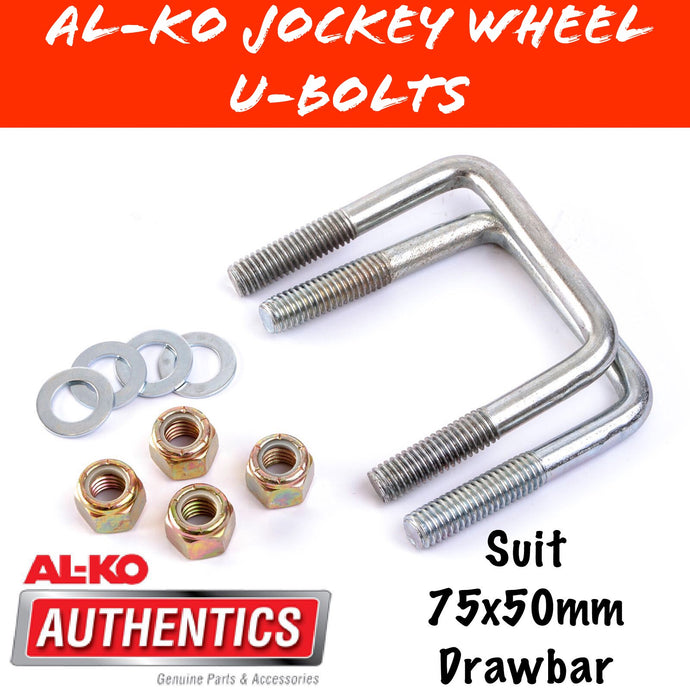 AL-KO 75X50MM DRAW BAR U-Bolt Set