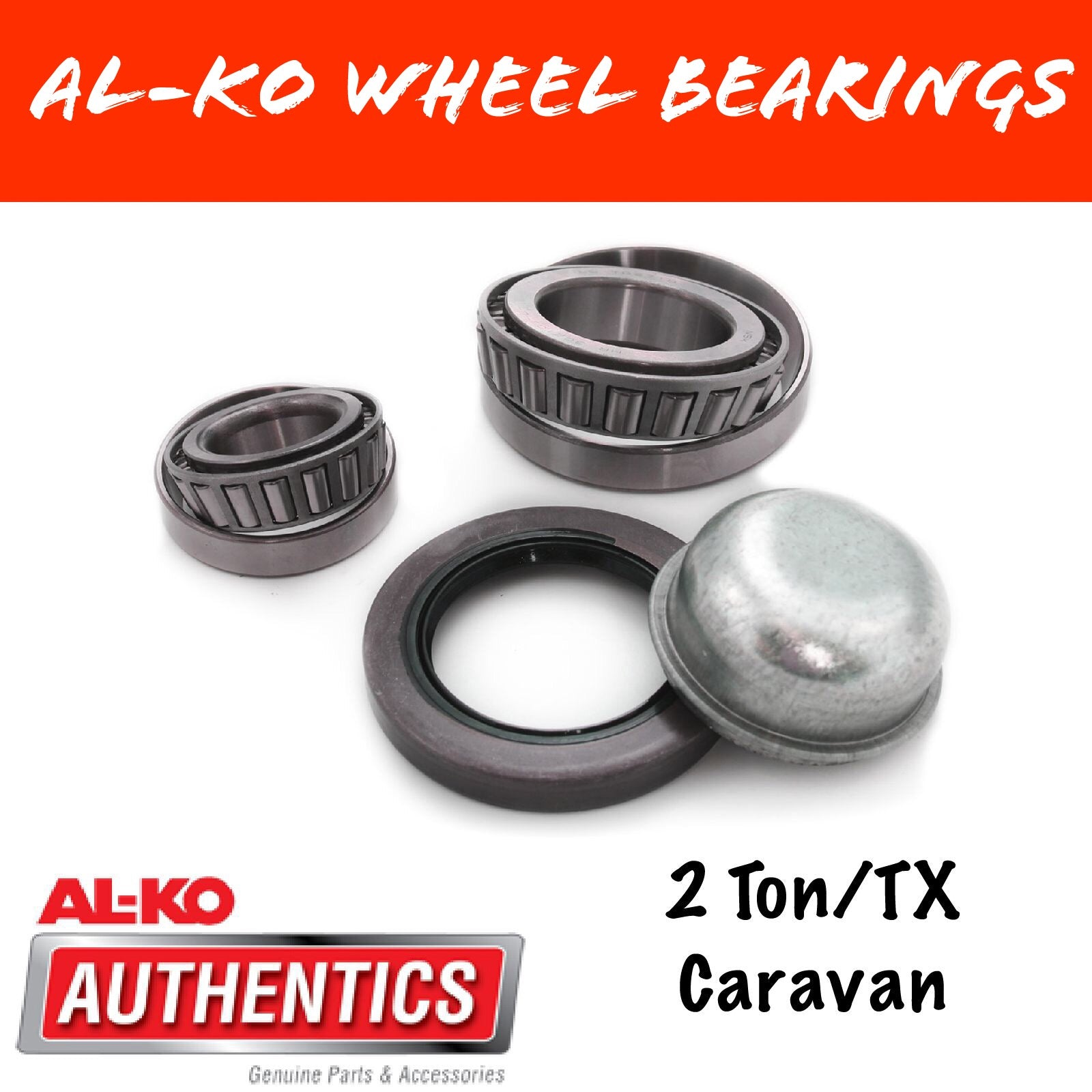 AL-KO 2 TON WHEEL BEARING KIT Japanese