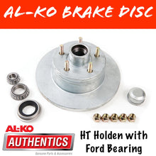 Load image into Gallery viewer, AL-KO HT Holden Gal Brake Disc with Ford Bearings
