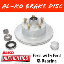Load image into Gallery viewer, AL-KO Ford Gal Brake Disc with Ford Bearings
