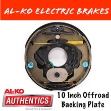 Load image into Gallery viewer, AL-KO 10 Inch Offroad Electric Brake Backing Plate