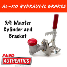 Load image into Gallery viewer, AL-KO 3/4 Master Cylinder and Bracket