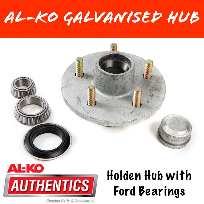 AL-KO HT Holden Gal Hub with Ford Wheel Bearings