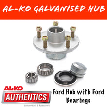 Load image into Gallery viewer, AL-KO Ford Gal Hub with Ford Bearings
